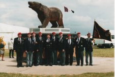 The Queen's visit to the National Memorial Aboretum - Alrewas 3rd July 2002