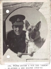 Mike Davies & Dog
