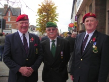 Malcolm Smith Terry Gilbert ( Ex French Foreign Legion - Algeria) David Prince