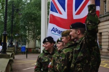 Cadets & Armed Forces Day Flag