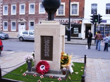 Wootten Bassett War Memorial